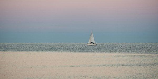 Segelbot auf Adria